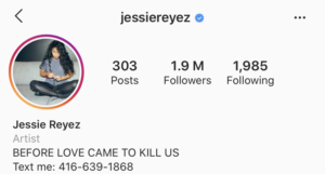 Jessie Reyez Phone Number