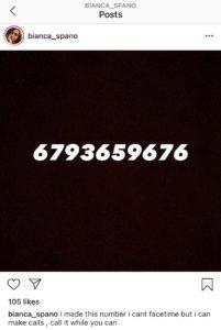 Bianca Spano Phone Number